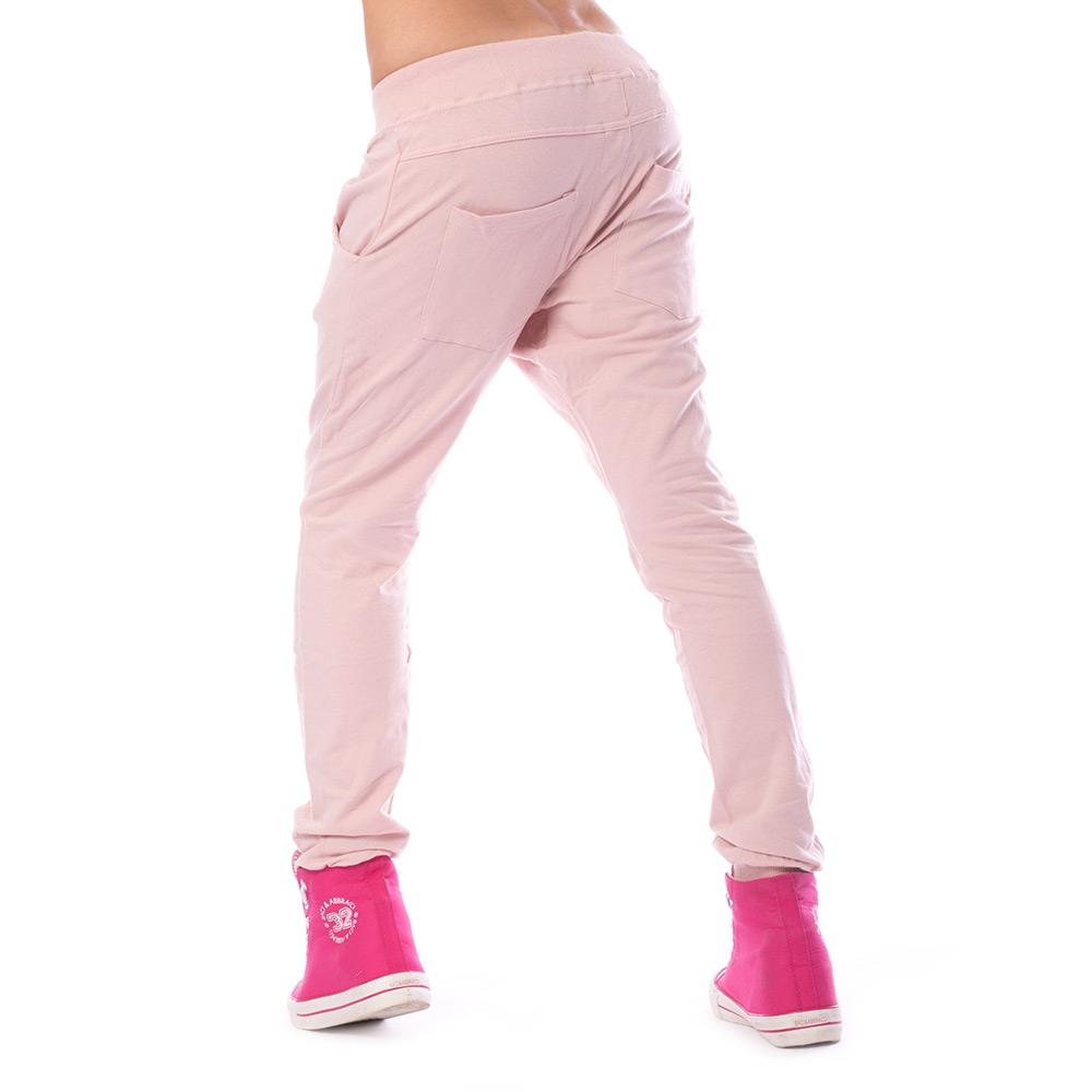 ... Dámská móda a doplňky - Dámské harémové kalhoty - světle růžové cd96782f19