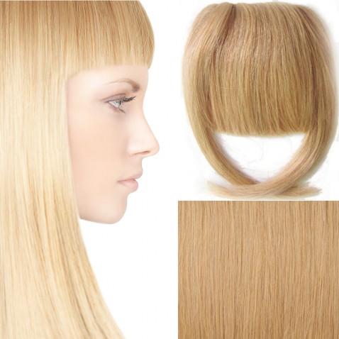 Clip in ofina – REMY 100% lidské vlasy - odstín 27