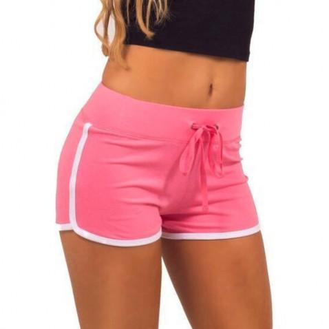 Dámské sportovní kraťasy Fitness - růžové