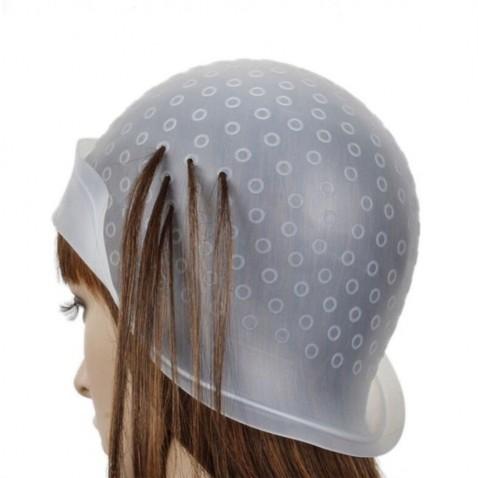Melírovací čepice - klobouk