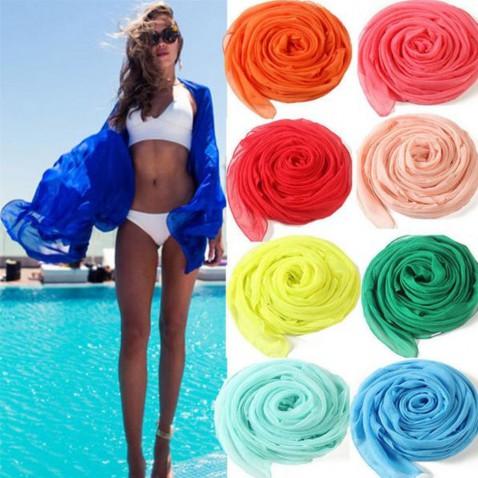 Velký šátek na pláž