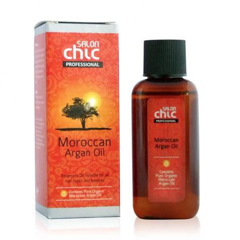 Salon Chic arganový vlasový olej - čistý, marocký, 50 ml