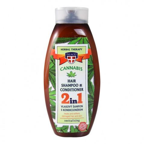 Konopný šampon s kondicionérem, 500 ml