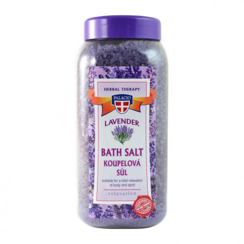 Levandulová sůl do koupele, 900 g