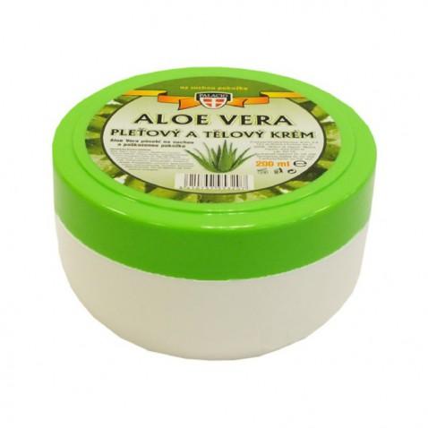 Aloe Vera pleťový a tělový krém, 200 ml