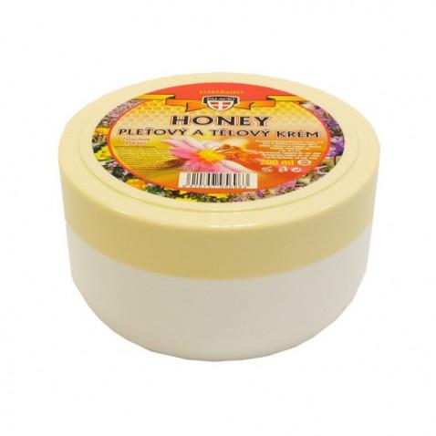 Honey pleťový a tělový krém, 200 ml