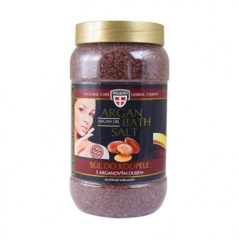Arganový olej sůl do koupele, 1200 g