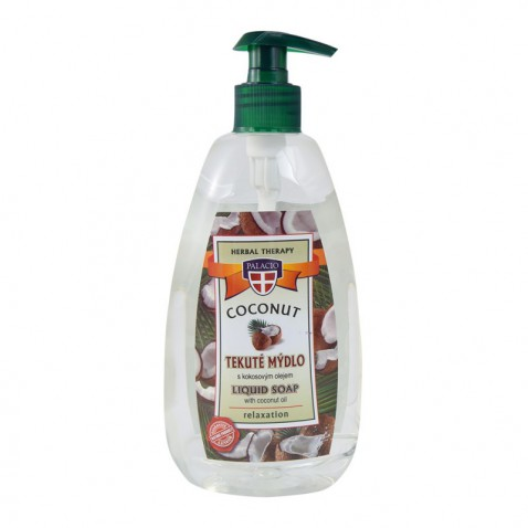 Kokosové tekuté mýdlo s pumpičkou, 500 ml