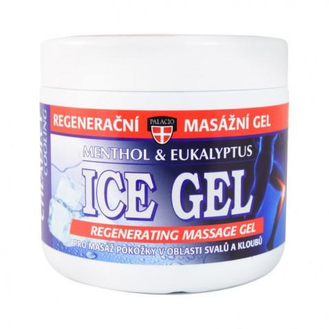 Ice gel masážní - menthol & eukalyptus, 600 ml