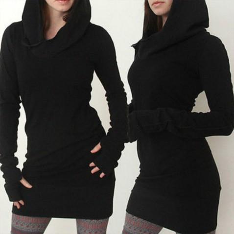 Dlouhé triko s kapucí Assassin