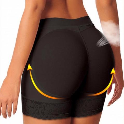 Push up tvarovací kalhotky Colombianas - černé