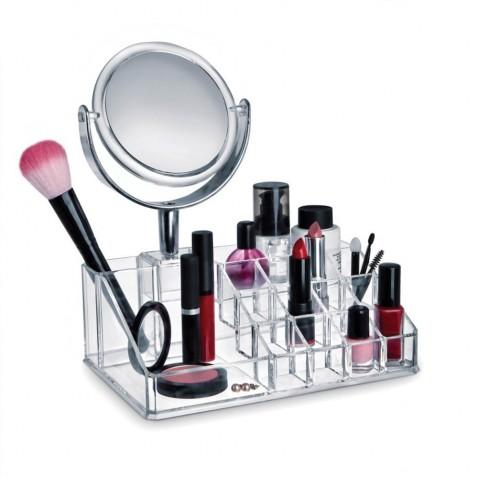 Plastový kosmetický organizér