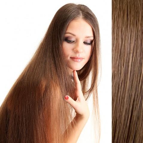 Clip in vlasy 56 cm lidské – Remy 100 g - odstín 6