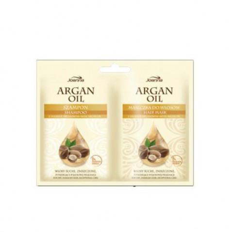 Joanna HS Argan oil - šampón a maska sáček 2 x 10 ml