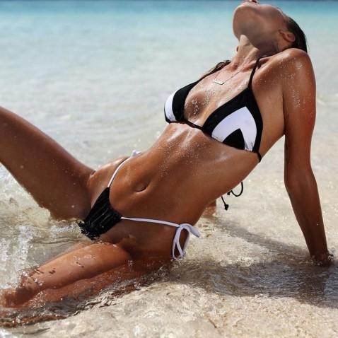 Dámské dvoudílné plavky Cathi Black