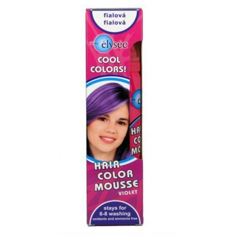 Elysée barevné pěnové tužidlo 43 fialová, 75 ml