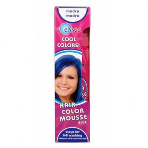 Elysée barevné pěnové tužidlo 42 modrá, 75 ml