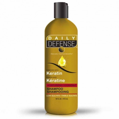 Daily Defence vlasový šampon s keratinem, 473 ml