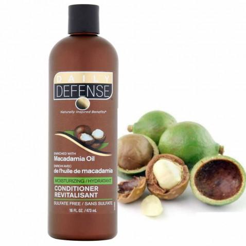 Daily Defence vlasový kondicionér s makadamiovým olejem, 473 ml