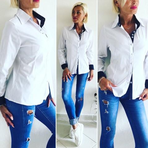 Dámská bílá košile - Chic