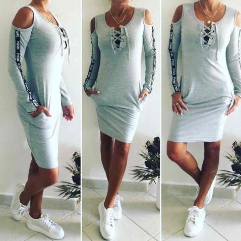 Dámské šaty Miami - šedé