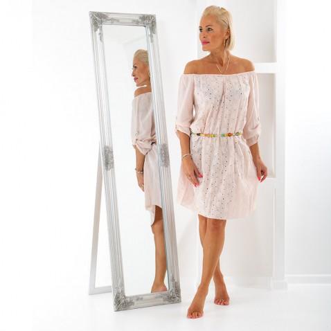 Dámské šaty s páskem - Bead