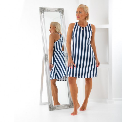 Dámské pruhované šaty - Seafarer