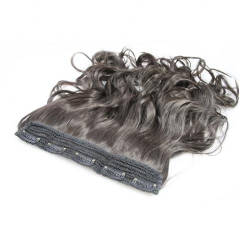 Clip in pás vlasů - lokny 50 cm - odstín 2