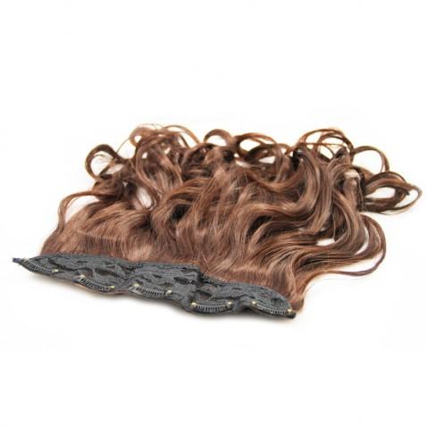 Clip in pás vlasů - lokny 50 cm - odstín 2/33