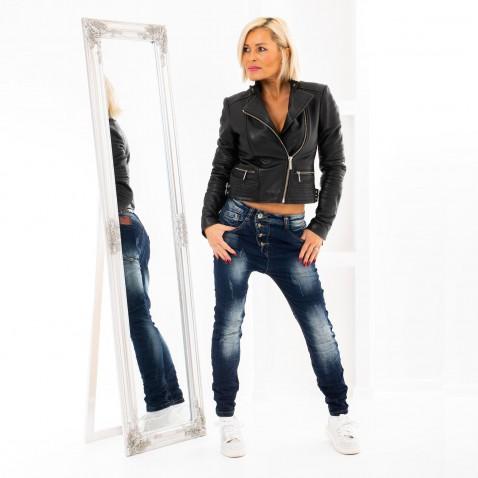 Baggy jeans s knoflíky