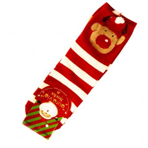 Vánoční ponožky - pruhované