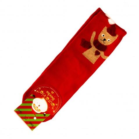 Vánoční ponožky - červené
