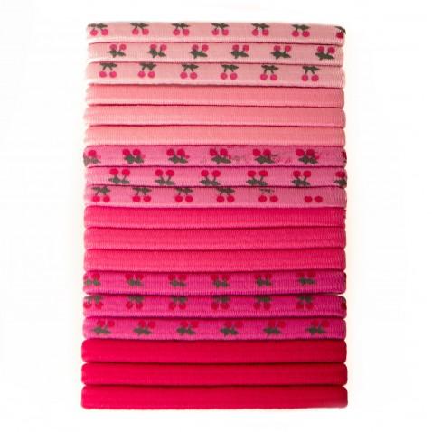 Sada gumiček Pink 18 ks
