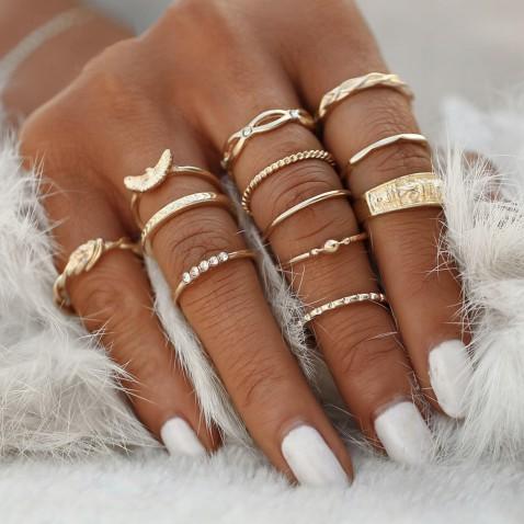 Sada prstýnků Celebrate