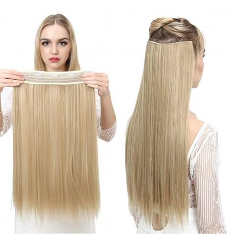 Clip in vlasy - 60 cm dlouhý pás vlasů - odstín F22/613