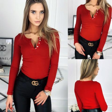 Dámské tričko Evelyn - červené