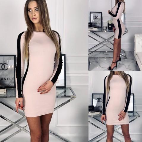 Dámské elastické šaty Ella Powder