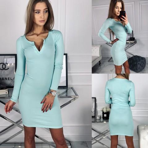 Dámské elastické šaty Penelope - mint