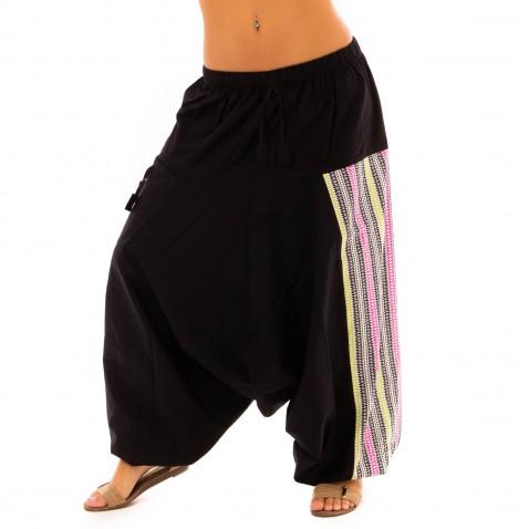 Harémové kalhoty Bumginy Zig-Zag