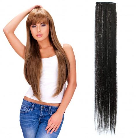 Clip in pásek rovný 60 cm - odstín A