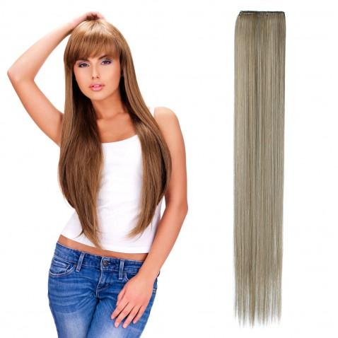Clip in pásek rovný 60 cm - odstín M