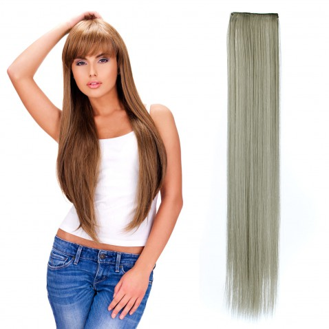 Clip in pásek rovný 60 cm - odstín Q