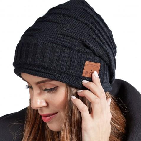 Bluetooth čepice se sluchátky Honey