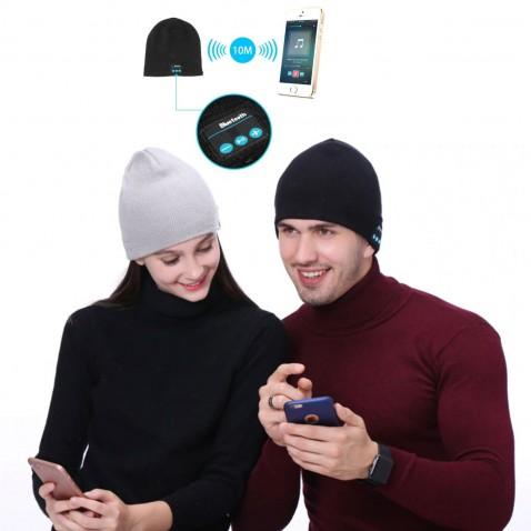Bluetooth čepice se sluchátky Dance