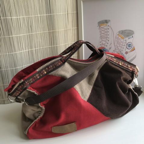 Velká sešívaná taška