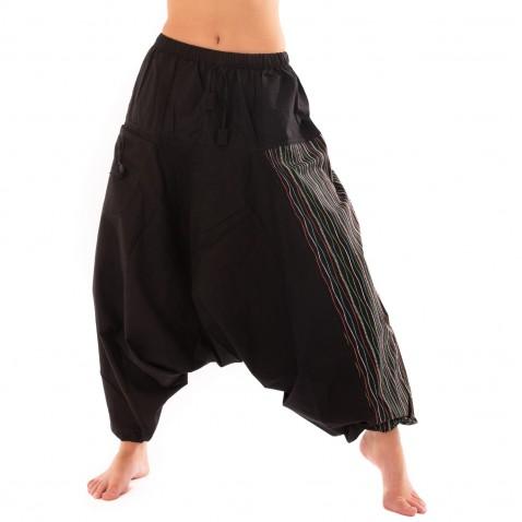 Harémové kalhoty Bumginy Stripes