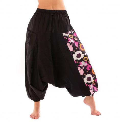 Harémové kalhoty Bumginy Flowers Multicolor