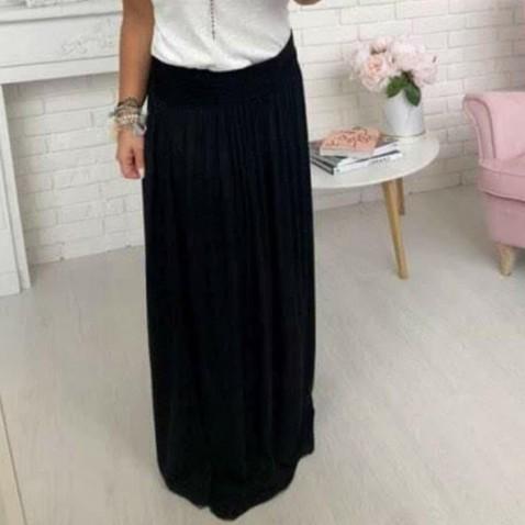 Dlouhá dámská sukně - černá
