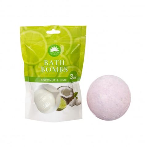 Elysium SPA Bomby do koupele Coconut-Lime 3x50g koule