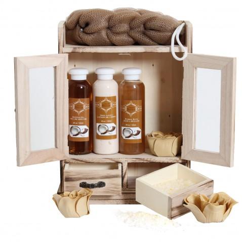 Brubaker Luxusní dárková sada Coconut Spa ve skřínce